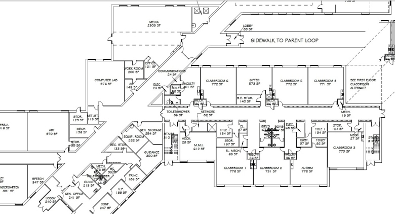 Eastwood Elementary floor plan (2)
