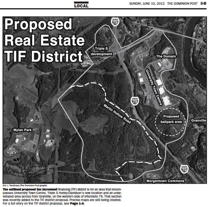 proposed TIF district